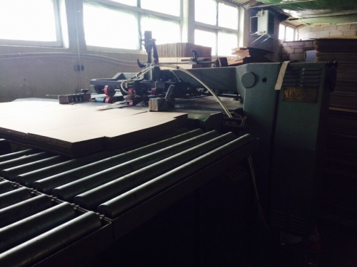 stitching machine for corrugated boxes